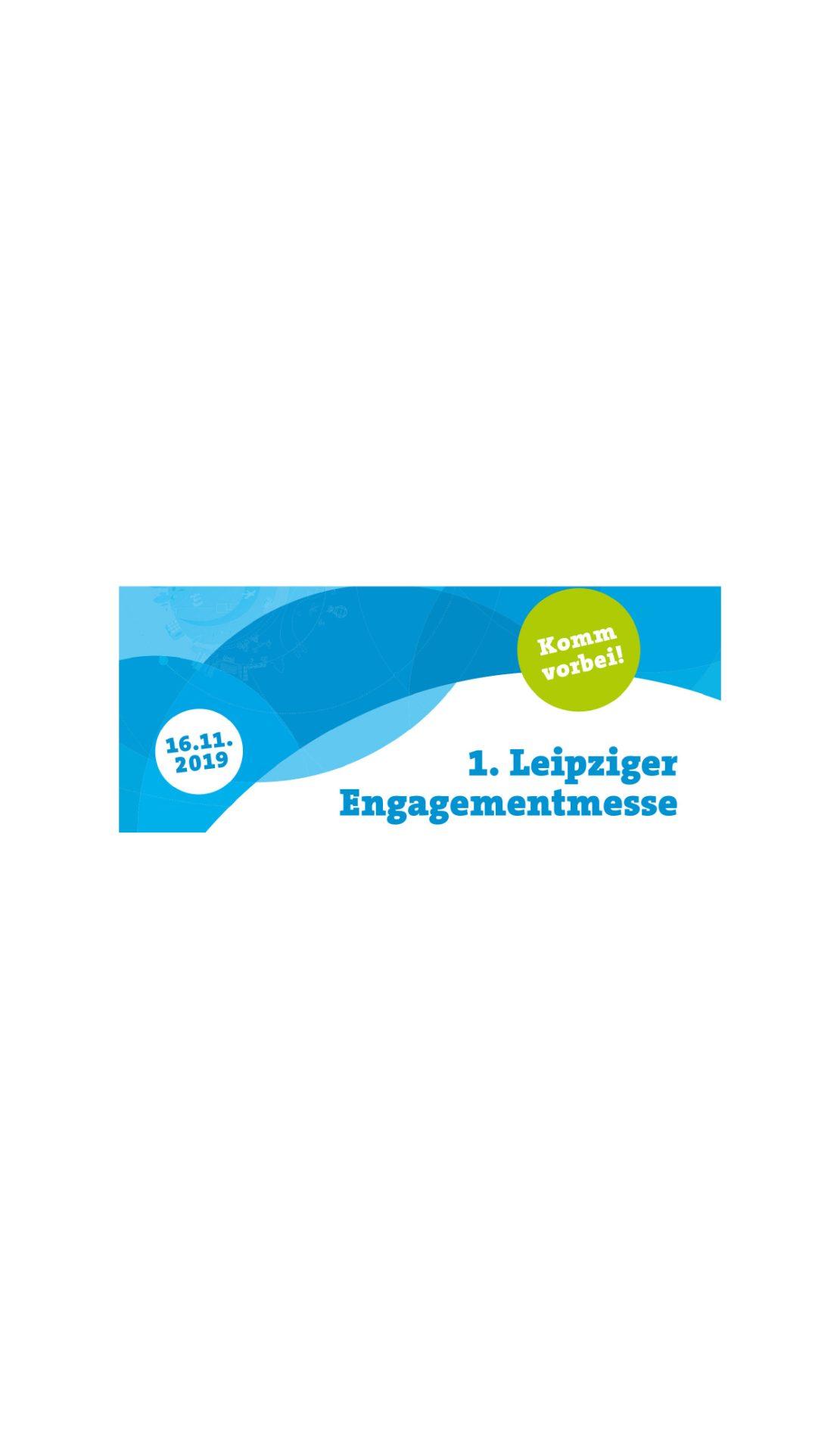 """""""Leipzig weiter denken"""" lädt zur 1. Leipziger Engagementmesse"""