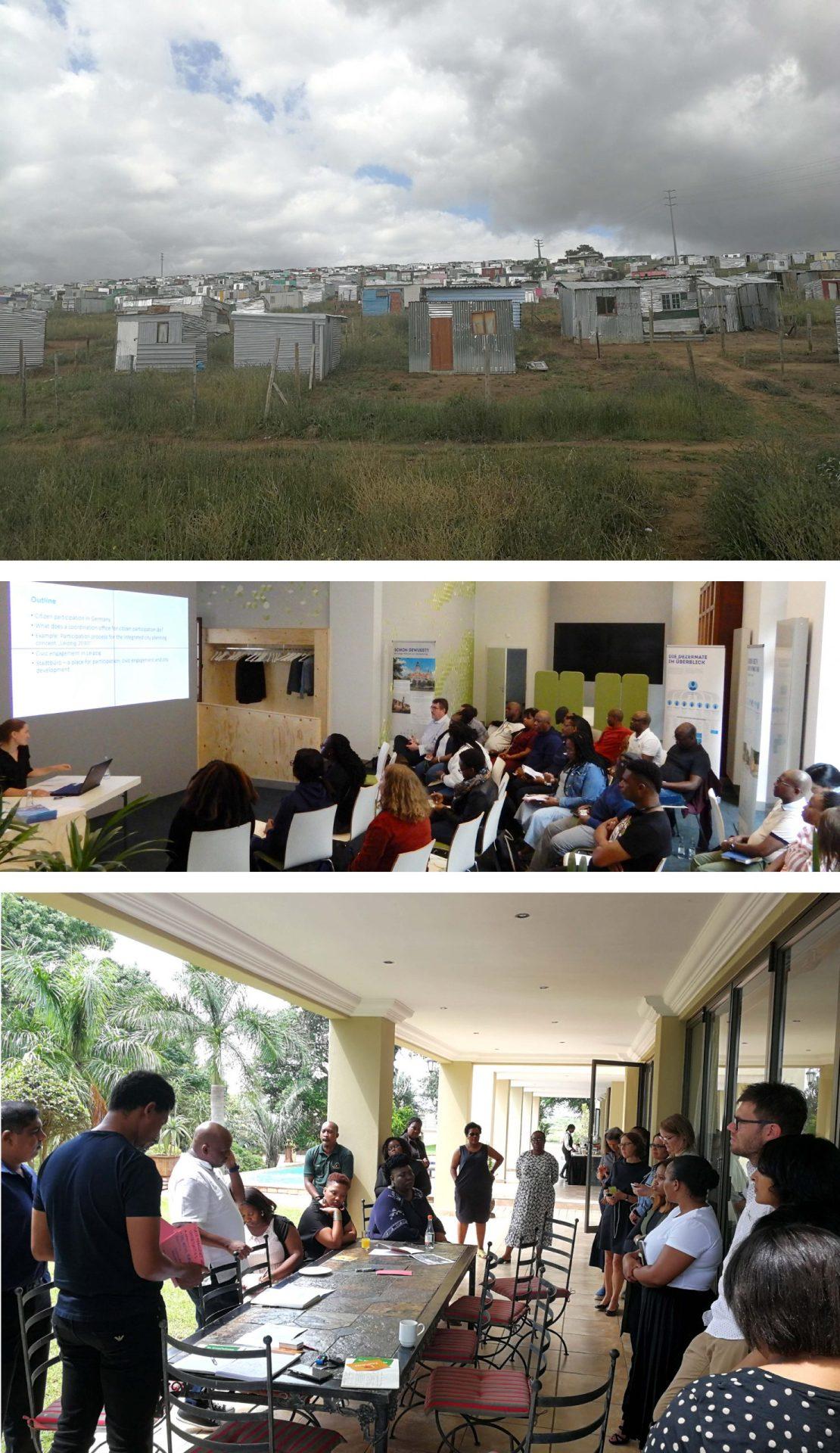 Unterstützung bei der Umsetzung und Fortschreibung des Integrated Urban Development Framework (IUDF) in Südafrika
