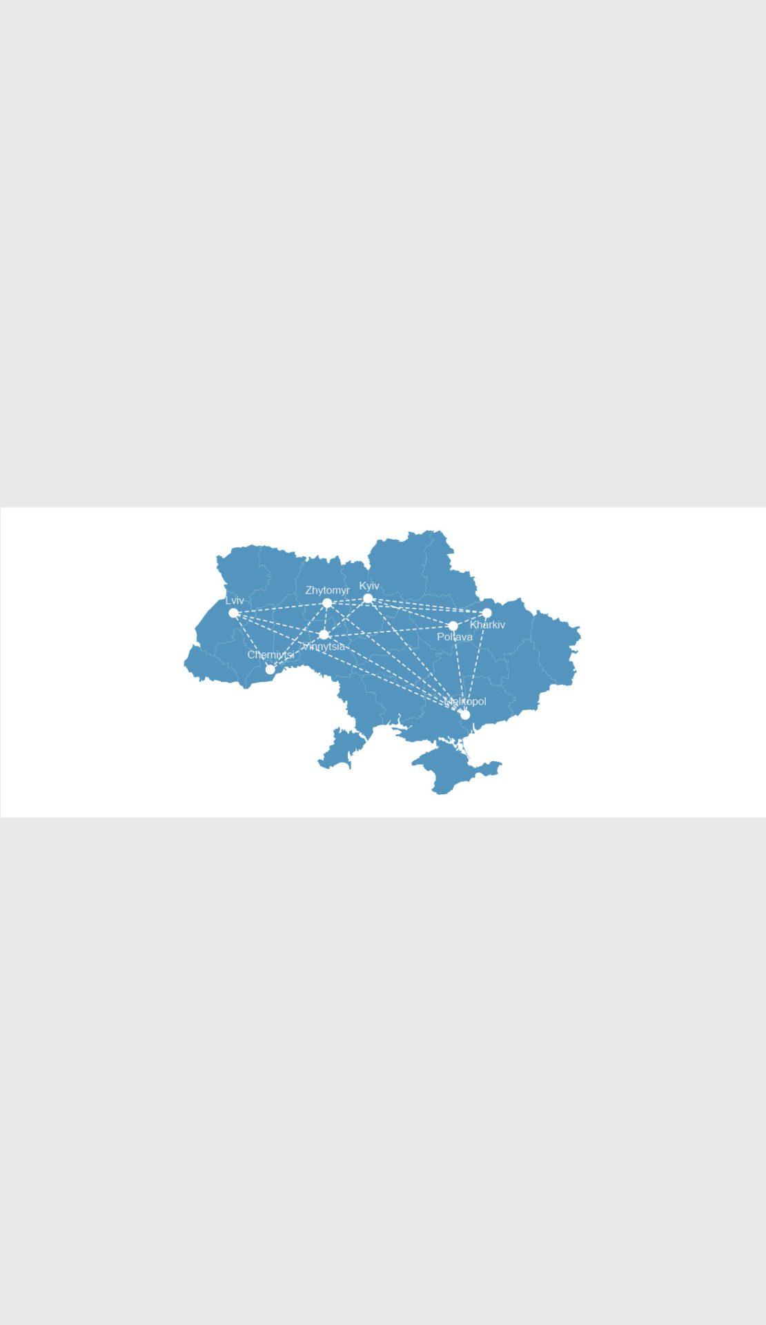 Aufbau eines interkommunalen Lernnetzwerks für ukrainische Städte und Gemeinden